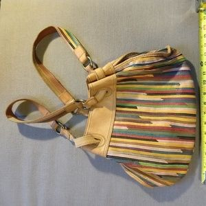 Lucky Hobo Multicolor Leather Strap